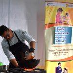 Cocinando con amor y sazón